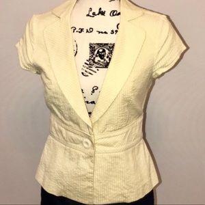 Forever 21 short sleeve blazer